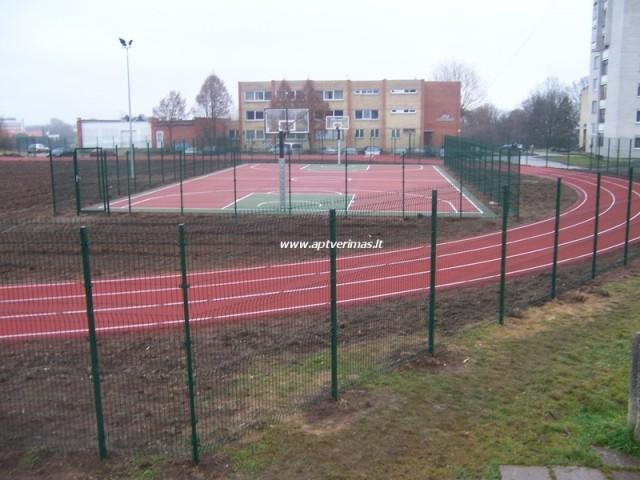 tvoros pavyzdžiai - stadiono tvora