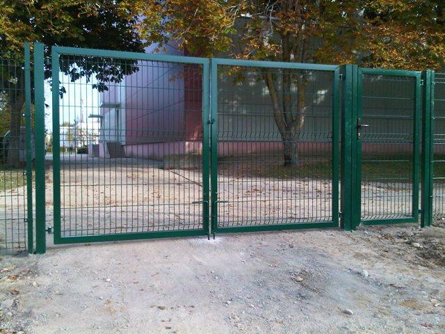 tvoros pavyzdžiai - tvoros vartai