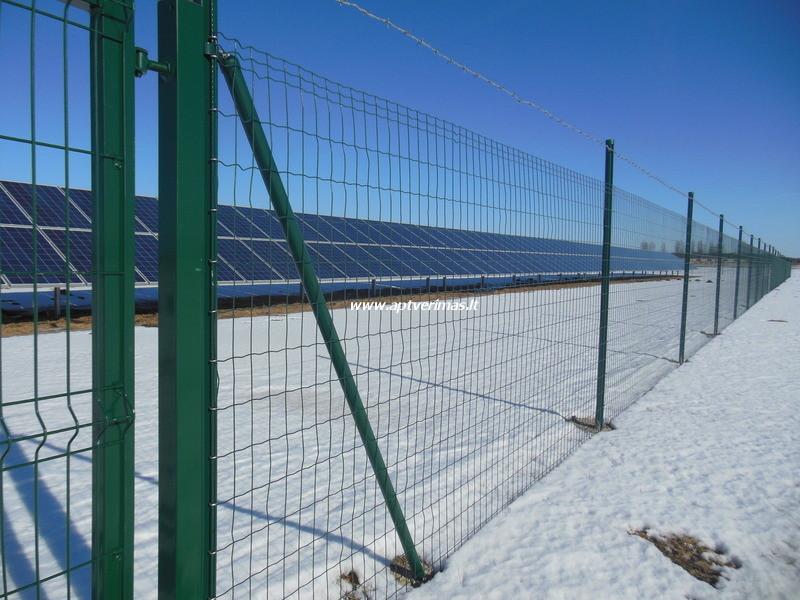 tvoros pavyzdžiai - tinklinė tvora